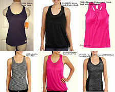 NEW Womens Danskin Avia Sports Active Moisture Wicking Racerback Tank Tops XS-XL