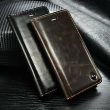 Luxury Leather Wallet Case Magnetic Flip Cover Stand For iPhone 6S 6 Plus 5S SE