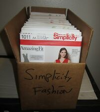 SIMPLICITY Amazing Fit Misses & Womens Plus Fashion Sewing Pattern (Sizes 10-20)