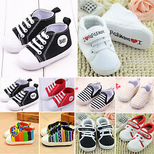New Toddler Baby Boy Girl Casual Soft Sole Crib Shoes Non-slip Sports Prewalkers