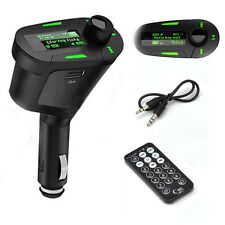 Wireless Radio FM Transmitter MP3 Player Modulator Car Kit SD MMC USB LCD Remote
