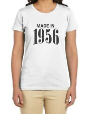 Made in 1956 60th Birthday Gift Idea Retro Cool Women T-Shirt Novelty Present