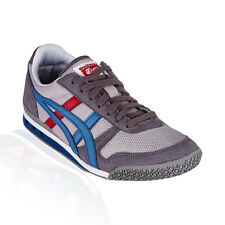 Onitsuka Tiger - Ultimate 81 Casual Shoe - Light Grey/Captain Blue