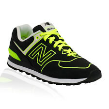 New Balance - 574 Classics (Neon Collection) Casual Shoe - BLACK/YELLOW
