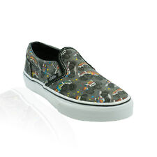 Vans - Classic Slip On (Youth) - Pewter Black/Monster Truckin