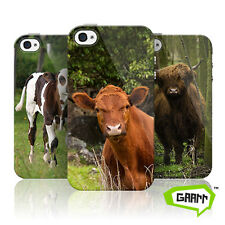 Cow Case For Apple iPhone 4 Cattle Farm Animal Protective Phone Cover