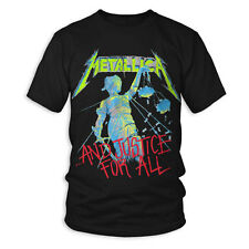 NEW Licensed Quality Metallica And Justice For All T-Shirt S M L XL Free Postage