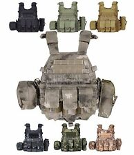 6094 Military Equipment Paintball Molle Back Support Tactical Vest Plate Carrier
