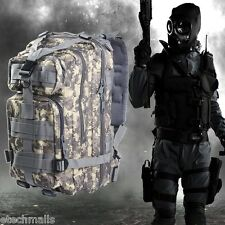 3P Tactical Military Backpack Oxford Sport Bag 30L for Camping Traveling Hiking