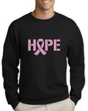 Hope Breast Cancer Awareness Pink Ribbon Sweatshirt Support