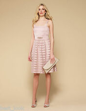 Monsoon LiLy Dress in Nude Size 8 to 16