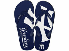 "New York Yankees MLB Forever Collectibles Youth ""Mascot"" Flip Flops"