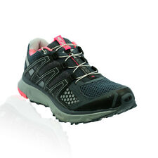 Salomon - XR Mission Trail Running Shoes - Grey Denim/Light Onyx/Fluo Pink