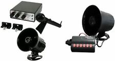12V SIREN PA SYSTEM HORN ANIMAL NOISES POLICE SIREN MICROPHONE DIFFERENT TONES