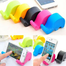 1PC Fine Small Mini Elephant Mobile Cell Phone Tablet Fixed Holder Mount Stand
