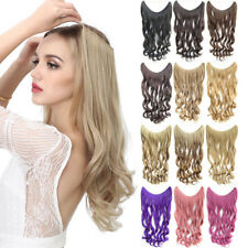 """24"""" 100gr/pc Invisible Wire Long Wavy Curly Hair Extensions Hairpiece FIH88-L"""
