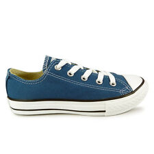 Youths Converse A Blue Chuck Taylor All Star Oxford Trainers
