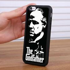 The Godfather Silicone Rubber Skin Case Mobile Phone Cover for iPhone Samsung