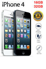 Original Apple iPhone 4 GSM 100% Factory Unlocked White Black  16GB / 32GB