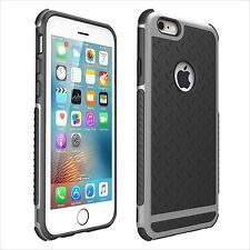 Hybrid Rugged Rubber Hard Shockproof Case Cover Skin for iPhone 5S SE 6 6S Plus