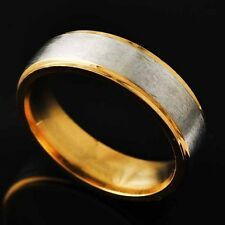 Classic jewelry Eternity Mens Yellow Gold Filled Silver Plated Ring Size 8-11
