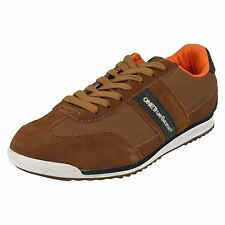 Mens One True Saxon Lace-Up Trainers Volare