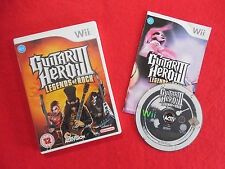 GUITAR HERO 3 LEGENDS OF ROCK ~ Nintendo Wii ~Complete~ 12+ Activision PAL