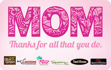 Darden Restaurants - Mothers Day - Gift Card $25 $50 $100 - Email delivery