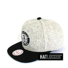 Mitchell & Ness - Brooklyn Nets Melange Flannel Snapback