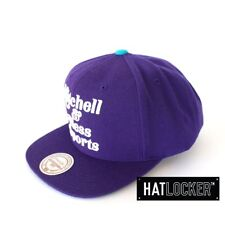 Mitchell & Ness - Mitchell & Ness Sports Purple Snapback
