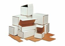 White Corrugated Mailers White Boxes All sizes 50/lot for Shipping Packaging