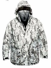 Natural Gear Mens Snow Parka Camo Insulated Waterproof Polyeste Rain Jacket Warm