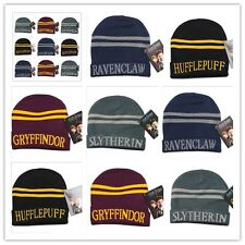 Cosplay Harry Potter Hufflepuff Slytherin Gryffindor Costume Hat Cap