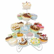 4 TIER CUPCAKE HOLDER PARTY STAND CAKE METAL DISPLAY DECORATION CAKE HOLDER