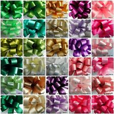 SALE OF BERISFORDS WIDE DOUBLE SATIN RIBBON 31 COLOURS 3 WIDTHS 2 LENGTHS