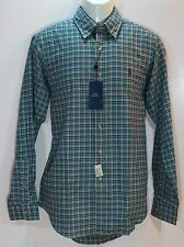 POLO RALPH LAUREN Mens Button Up Shirt MTWILL Forest Pur Green size M XL NEW NWT