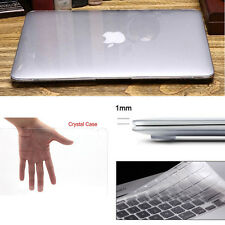 "Glossy Crystal Clear Hard Case Cover Keyboard for Macbook Pro 13/15"" Air 11/13"""