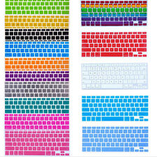 Silicone Keyboard Cover Skin Cleaner For Apple Macbook Pro MAC 13 15 17 Air 13