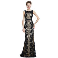 Ever Pretty Women's Sexy Round Neck Long Evening Dress 08769