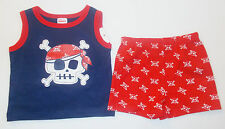 Fisher Price Infant Boys 2 Piece Shorts Outfit Pirate Various Sizes WT