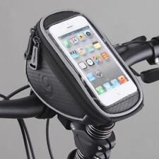 Bike Bicycle Front Frame Tube Bag Handlebar Phone Holder Screen Touchable Pouch