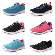 Ladies Gola Running Shock Absorbing Gym Womens Sports Trainers Shoes Size