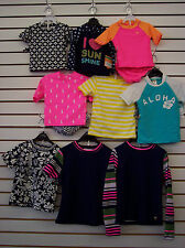 Infant & Girls Assorted 2pc Swim Shirt & Bottoms Sets Size 18 Months - 14