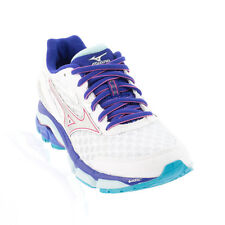 Mizuno - Wave Inspire 12 Running Shoe - White/Silver/Clearwater