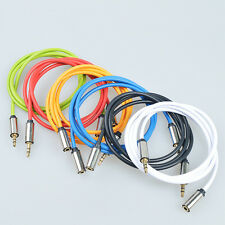New M/F Plug Stereo Audio Headphone Extension Cable 3.5mm Male to Female