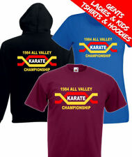 The Karate Kid All Valley Karate Championships Retro Movie T Shirt