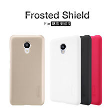 Nillkin Frosted Shield Matte Hard Back Cover Skin Case +LCD Film For MeiZu M3