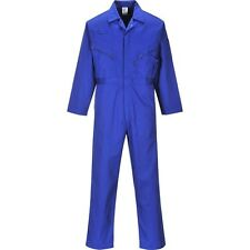 Portwest C813 Liverpool Zip Front Boilersuit Work Workwear Overall Coverall