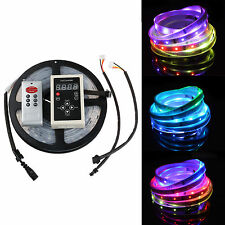 Dream Color 6803 IC Chip 5M 5050 RGB LED Strip +133 Effects RF Controller +Power