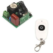 Hot Mini AC 220V 10A Relay 1CH 315/433 MHz Wireless Switch Transmitter+Receiver
